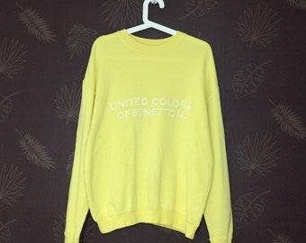 66fcfe450b8b Vintage United Colors Of Benetton Crewneck Sweatshirt