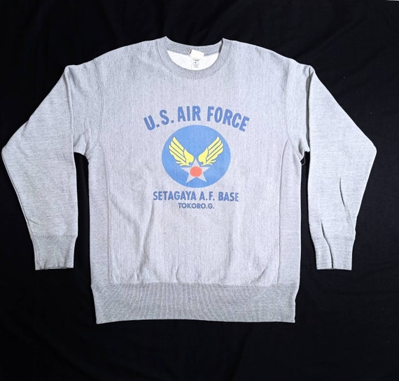 Vintage us air force setagaya air force base sweat