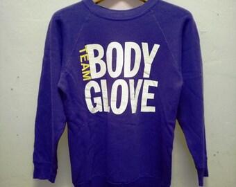 Vintage Sweater Team BodyGlove Msd53WsFSi