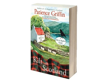 PERSONALIZED--Signed copy of Kilt in Scotland, book #8, Kilts & Quilts® series