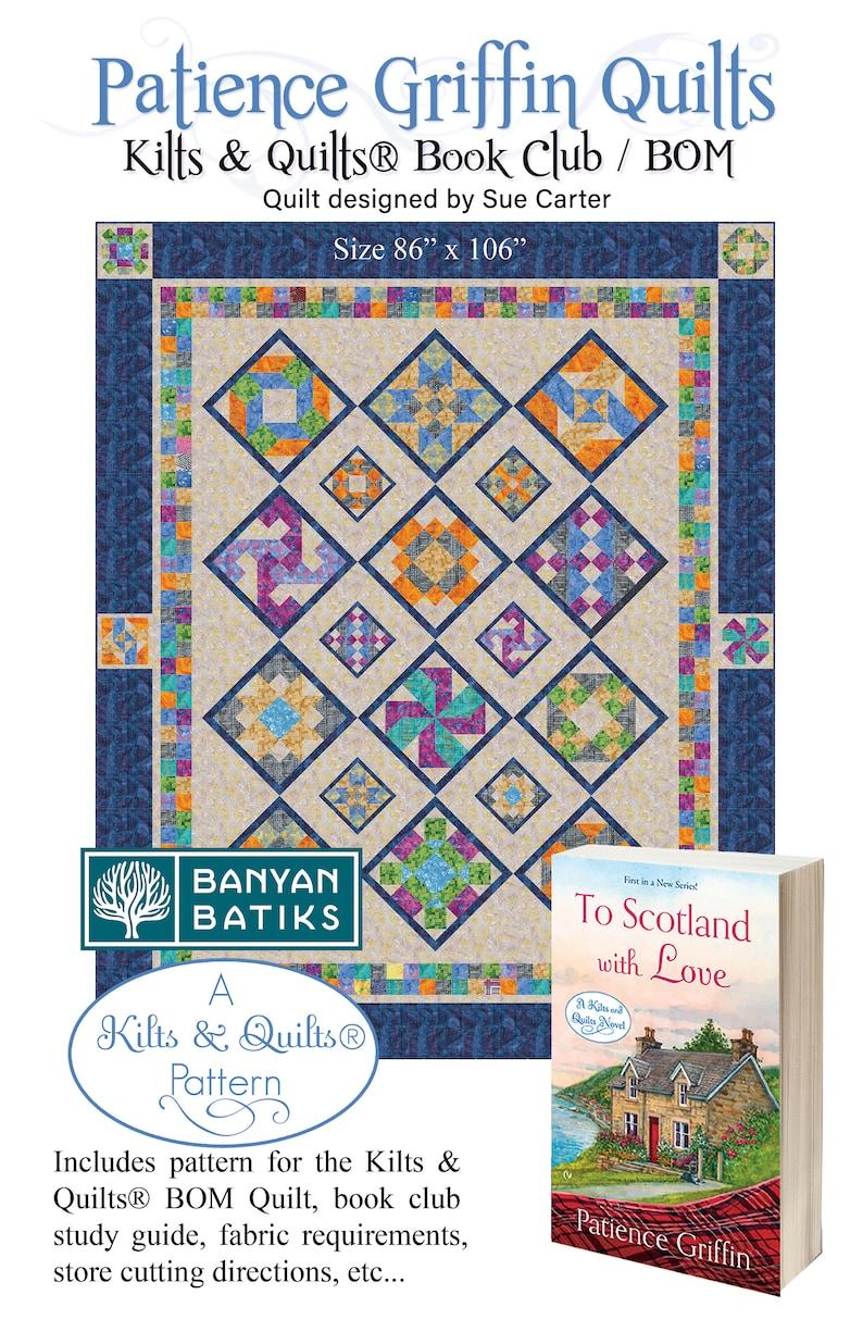 Kilts & Quilts® series Book Club / BOM program For Quilt image 0