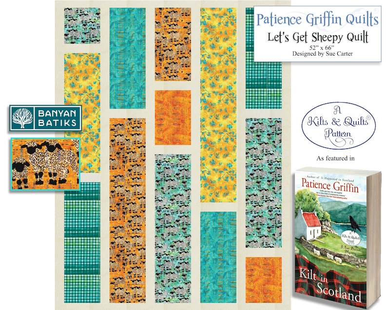 Let's Get Sheepy Quilt-Printed Pattern featured in the image 0