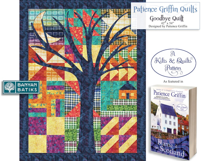 Goodbye Quilt Printed Pattern featured in the Kilts & Quilts® image 0
