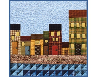 Gandiegow by the Sea Quilt-Printed Pattern (Kilts and Quilts series by Patience Griffin)