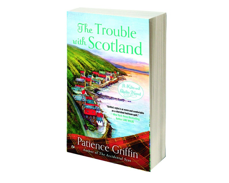 Personalized Signed Copy of The Trouble with Scotland book image 0