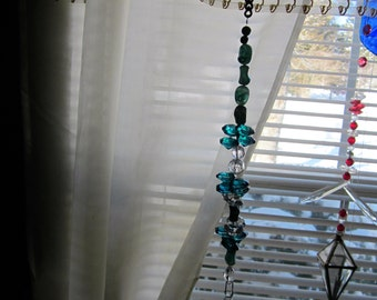 Suncatcher with a Crystal Prisms Hanging Window Suncatcher