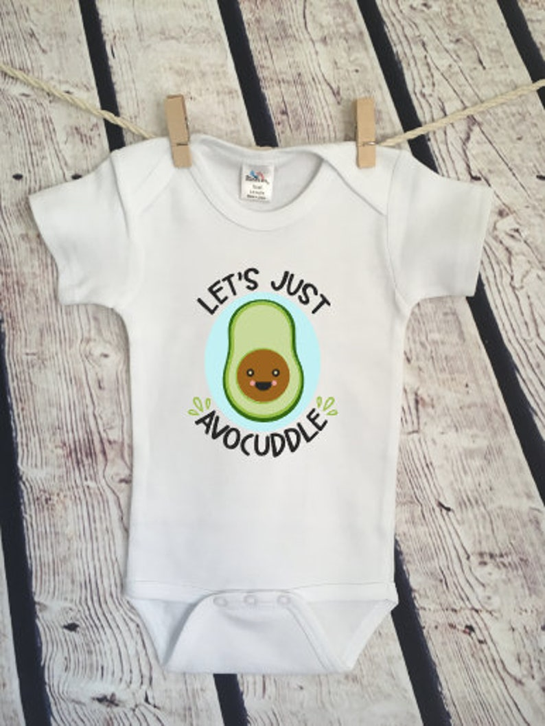 874c58c3e Lets Avocuddle avocado toddler newborn millennial Newborn | Etsy
