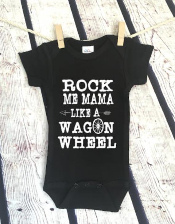 684384425 Rock Me Mama Wagon Wheel Country Music Pop Culture Hip Hop | Etsy