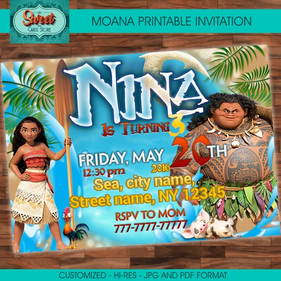 image about Printable Moana Invitations identify Moana custom-made electronic invitation, moana invitation, moana electronic, moana bash, moana birthday, maui bash, maui and moana, social gathering package