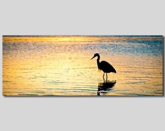 egret silhouette etsy