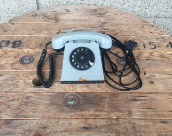 Vintage Rotary Phone, Rotary Deal Phone, Black Phone, Vinatge Home Decor, Classic Desk Phone, Old Rotary Telephone, Retro Phone