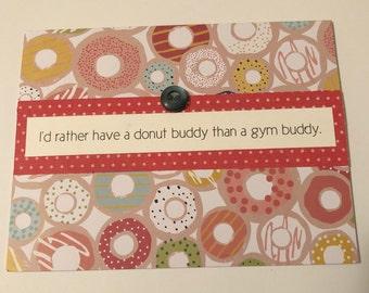 Items Similar To Donuts Diy Valentine Cards Children Valentine
