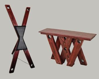 Folding St Andrews Cross/Table