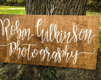 Photography Business Sign