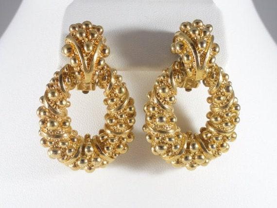Panetta Doorknocker Earrings Benedetto Panetta Jew