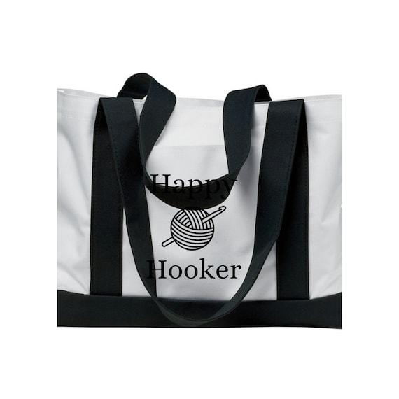 Avon Lady Tote bag purse black pink red lips lightweight #beautyboss Representative pockets large direct sales mascara FREE SHIPPING