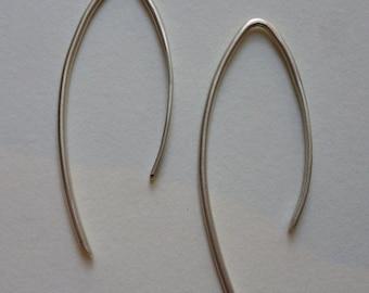 Dream model simply in Silver earrings