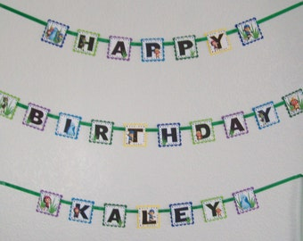 BEAT BUGS  Personalized  Birthday Party Banner