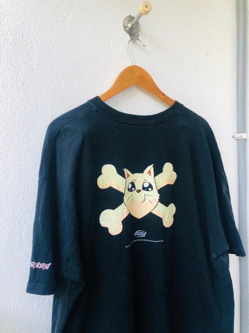 Vintage Original 90\u2019s Excel Saga \u201c Menchi The Dog 1999 \u201c Japanese Manga Series Cartoons T-Shirt