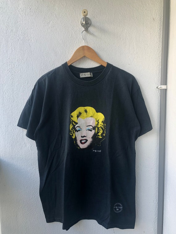 Supercool !Vintage Marilyn Monroe Gallery Souvenirs Pop Art Printed Illustration Artwork by Andy WarholKeith HaringPablo Picasso