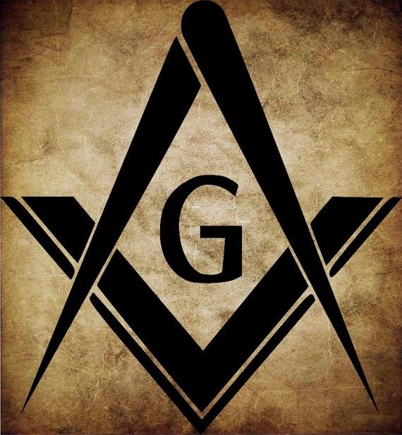 Masonic Square Compass Symbol SVG Files