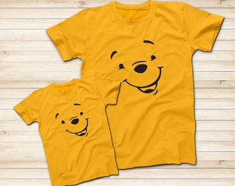 039029d0f2e4 Winnie The Pooh Smile Yellow Shirt