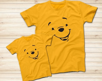 a85568b77a6b Winnie The Pooh Smile Yellow Shirt
