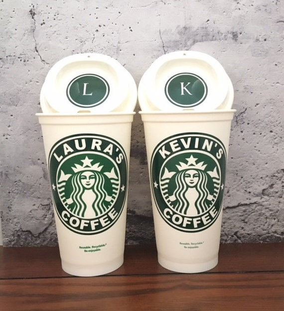 Starbucks Personalized Coffee Cup Starbucks Mug Reusable Etsy