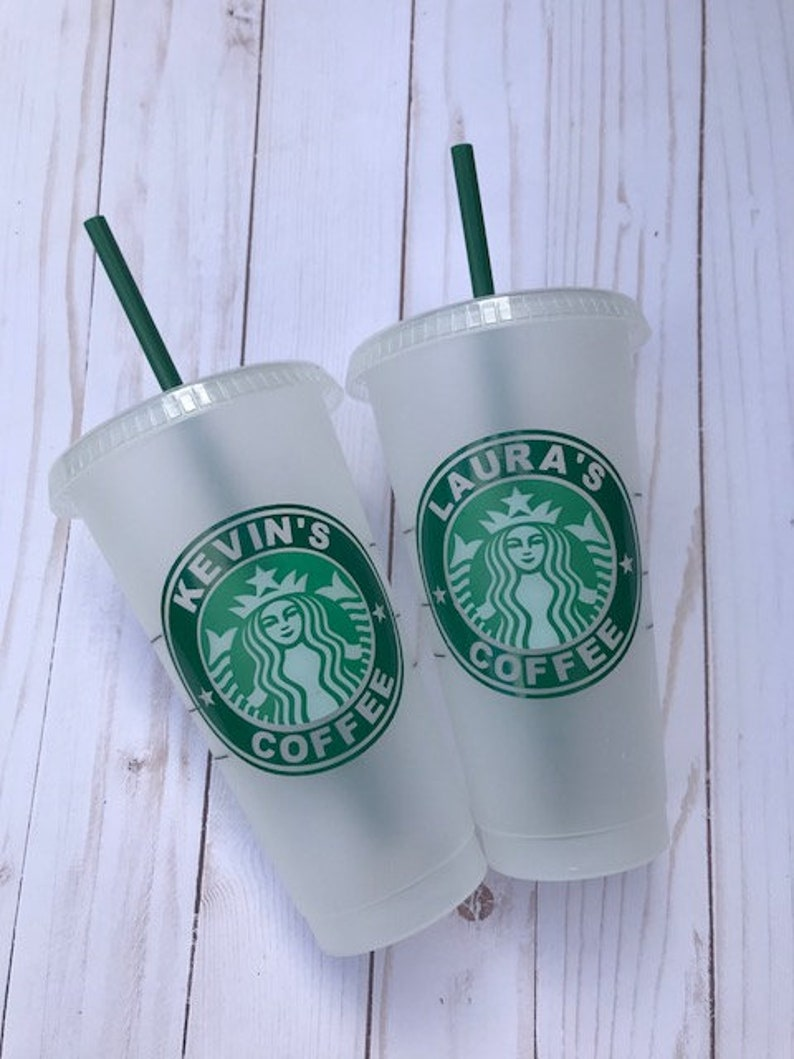 65ecddafe24 Personalized Starbucks Venti Cold Cup Custom Starbucks Cup image 0 ...