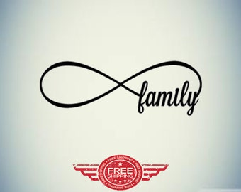 Infinty Family Decal!