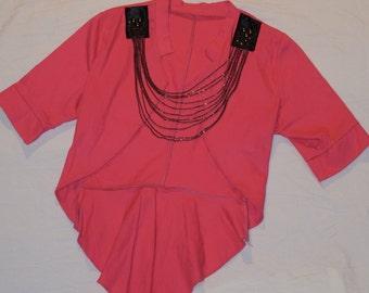 Vintage Bolero/Shrug Top - Madonna Fashion/Style 80s look jacket