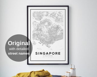 City maps | Etsy