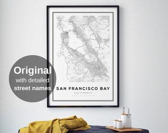 San francisco map | Etsy on usa map washington, usa map boston, usa map chicago, usa map seattle, usa map san diego, usa map denver, usa map toronto, usa map in miami,