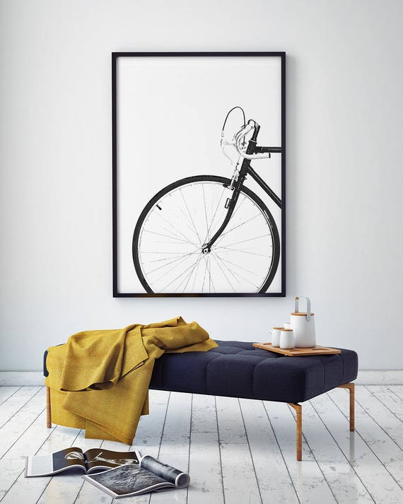 Cycling poster bicycle poster bike print bicycle wall art | Etsy