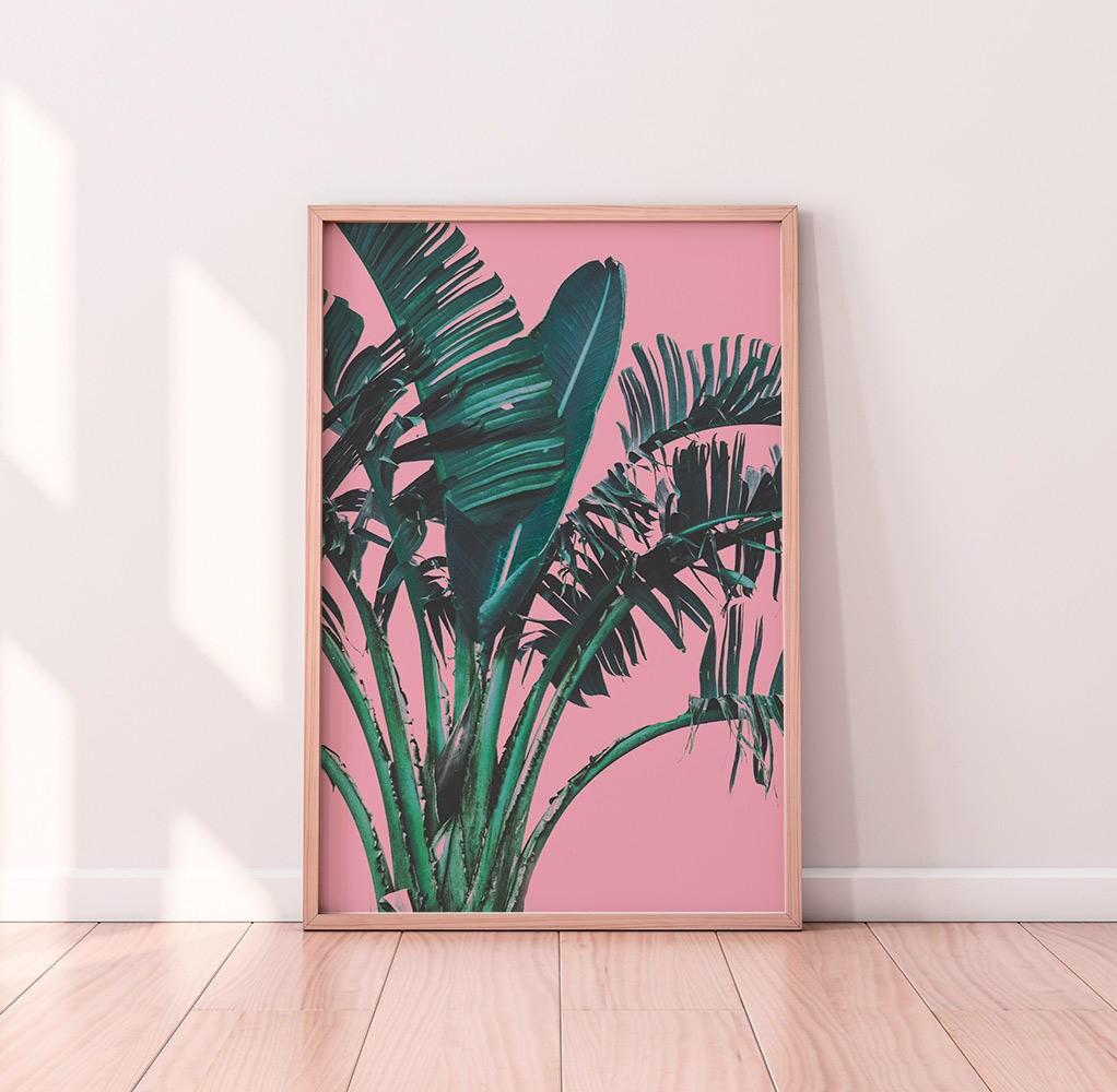 banana leaf print banana leaf art leaf print palm leaf palm