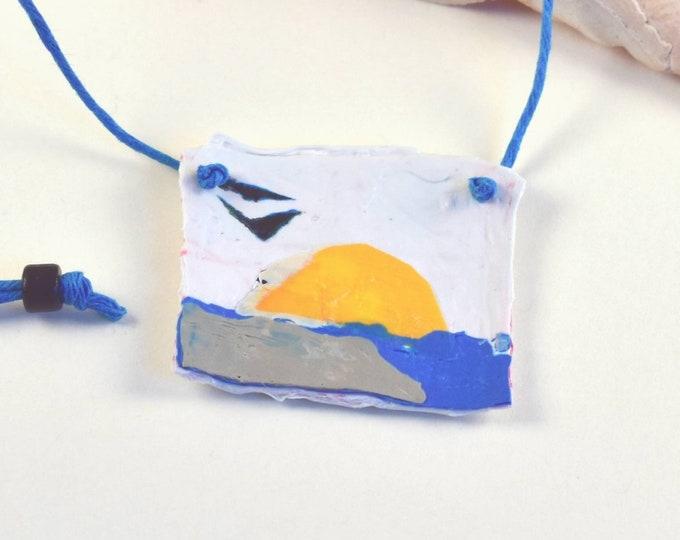 Fused Plastic Necklace