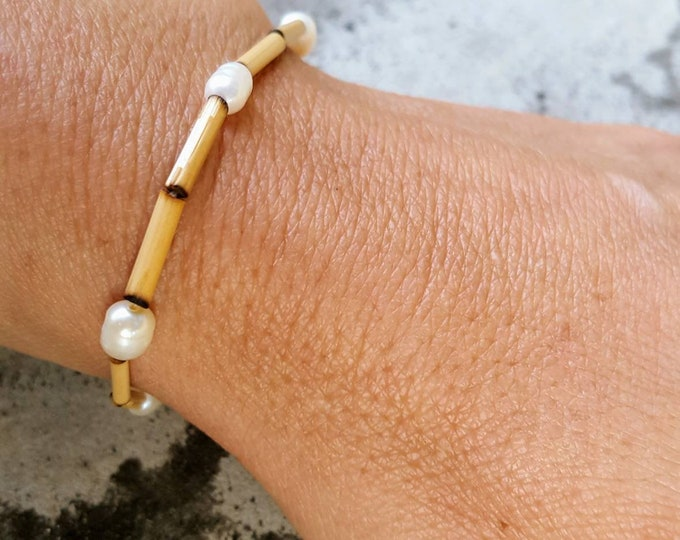 Bamboo Bracelet Handmade in the USA