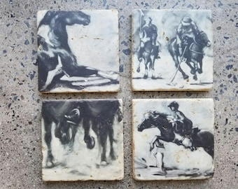 Dinner Party Rustic Equine Decor