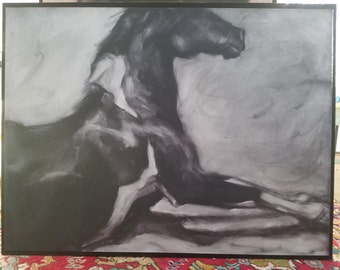 The Roll ~ Lambs Hill Icelandic Mare Print
