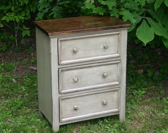 Rustic Furniture Bedroom Furniture Dresser Nightstand Farmhouse Dresser Nightstand Farmhouse Furniture Cabin Furniture Cottage Furniture