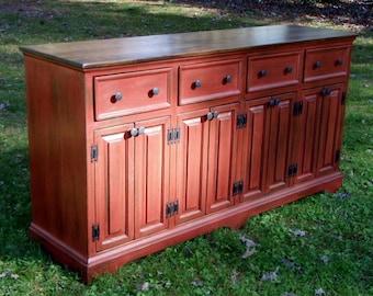Farmhouse Cabinet Buffet Cabinet Console