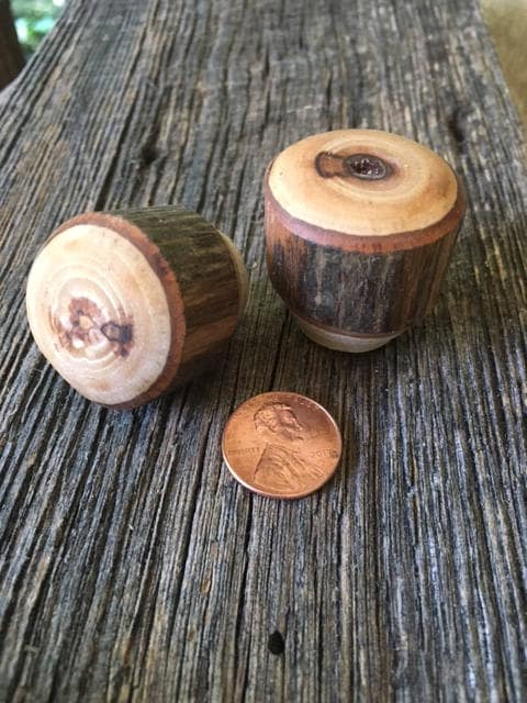 Beau Rustic Furniture Drawer Knobs, Kitchen Cabinet Hardware, Hickory Wood Drawer  Knobs, Rustic Cabinet Hardware Drawer Pulls Kitchen Knobs