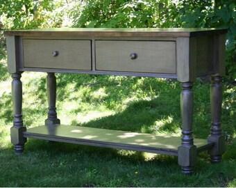 Rustic Furniture, Farmhouse Console Table