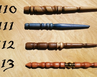 Dragon Alley Wizard Wands 110 - 113