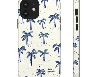 Seagulls of summer iPhone or Samsung Tough Case MESSYheart original design spring summer vibes phone case