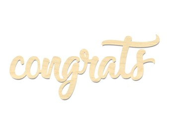 congratulations sign etsy