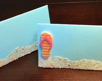 2af4977fc670 Beach place cards