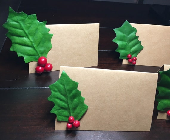 Christmas In July Party Food.Christmas In July Food Labels Holly Place Cards Holly Berries Christmas Escort Cards Placecards Holiday Party Food Tents 4 Order