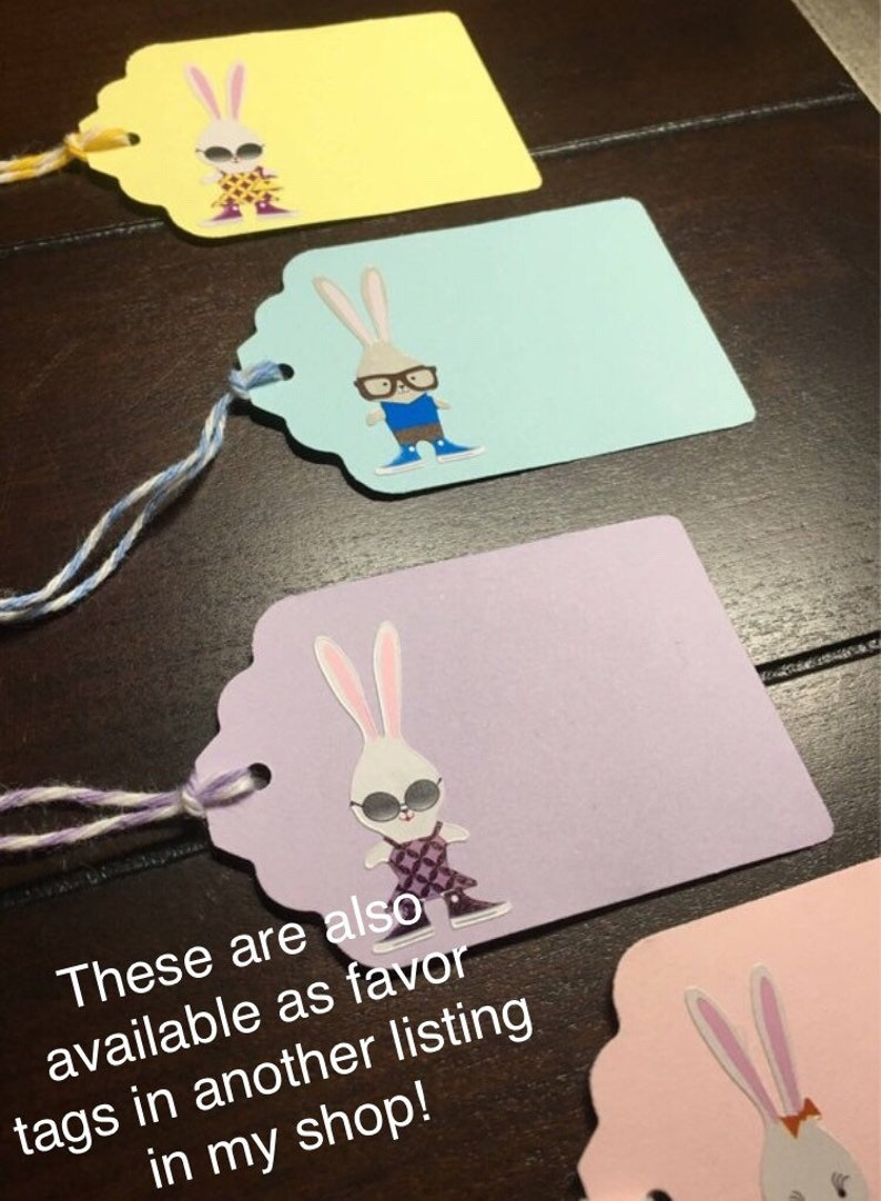 Bunnies Food Tents -8order Hipster Bunny Placecards Bunny place cards rabbit escort cards Custom Printed Bunny Rabbit Food Labels