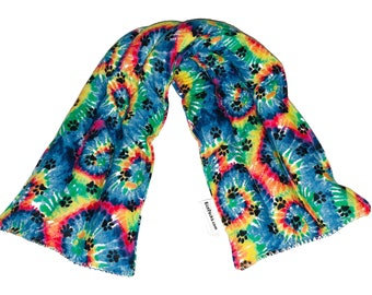 Starburst DesignYou Pick Scent Neck Pillow Hot and Cold Neck Reusable Rice Pack 5 inches by 20 inches Handmade reusable hot pads and reusable ice packs Hot Cold Pack Ideal Gift
